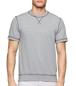Calvin Klein Jeans® Men's Short Sleeve Crew Neck Sweatshirt