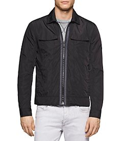 Calvin Klein Jeans® Men's Zip Front Trucker Jacket