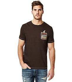 Buffalo by David Bitton Men's Nicheck Short Sleeve Tee