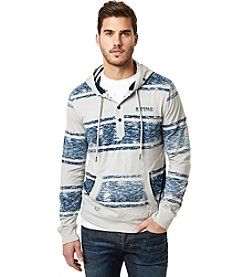 Buffalo by David Bitton Men's Nidark Long Sleeve Hooded Sweatshirt