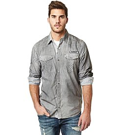 Buffalo by David Bitton Men's Sipund Long Sleeve Button Down Shirt