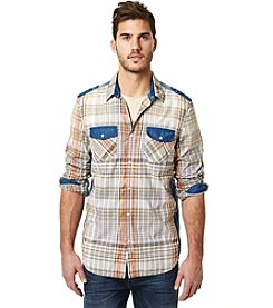 Buffalo by David Bitton Men's Sigrit Long Sleeve Button Down Shirt