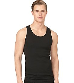 Calvin Klein Men's 3-Pack Classic Ribbed Tanks