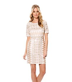 Laundry by Shelli Segal Short Sequin Dress