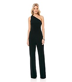 Laundry by Shelli Segal® One Shoulder Beaded Jumpsuit
