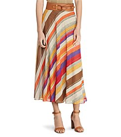 Lauren Ralph Lauren® Serape Georgette Maxi Skirt