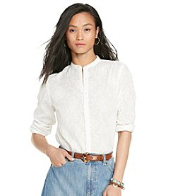 Lauren Jeans Co.® Cotton Button-Up Shirt