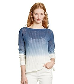 Lauren Jeans Co.® Ombre Linen-Cotton Sweater