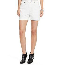 Lauren Jeans Co.® Denim Patch Pocket Shorts