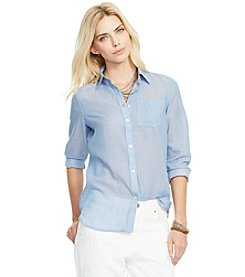 Lauren Jeans Co.® Cotton Pocket Shirt