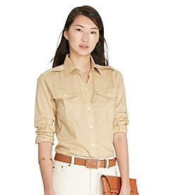 Lauren Jeans Co.® Cotton Voile Workshirt