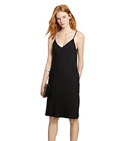 Lauren Jeans Co.® Crepe A-Line Dress