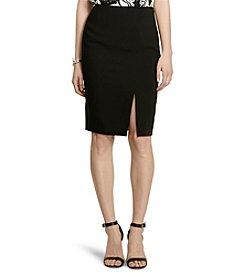 Lauren Jeans Co.® Crepe Pencil Skirt