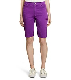 Lauren Active® Stretch Cotton Active Shorts