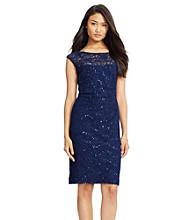 Lauren Ralph Lauren® Sequined Lace Dress