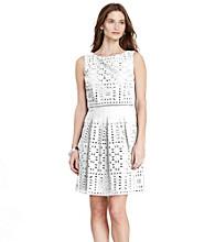 Lauren Ralph Lauren® Cotton Eyelet Dress