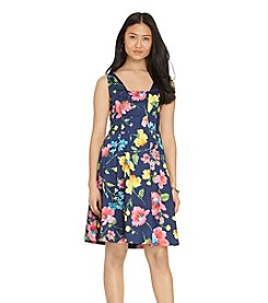 Lauren Ralph Lauren® Floral Sateen Dress