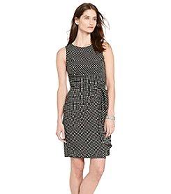 Lauren Ralph Lauren® Ruffled Crepe Dress