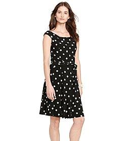 Lauren Ralph Lauren® Polka-Dot-Print Dress