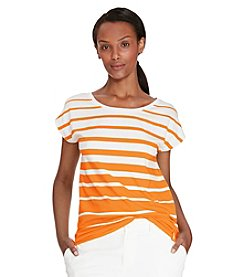 Lauren Active® Striped Jersey Top