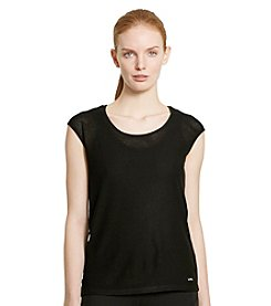 Lauren Active® Mesh Short-Sleeve Tee