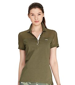 Lauren Active® Mesh-Panel Polo Shirt