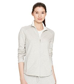 Lauren Active® Mesh-Paneled Stretch Jacket