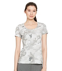 Lauren Active® Camo-Print Stretch Cotton Tee