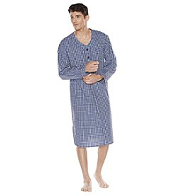 Majestic Men's Big & Tall Cotton Poplin Nightshirt