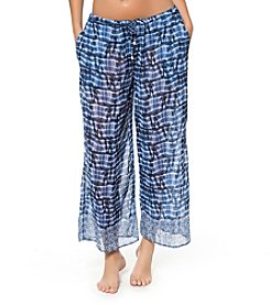 Bleu|Rod Beattie® Tie-Dye Crop Pant Cover-Up