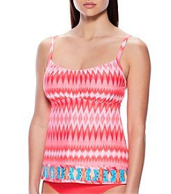 Coco Reef® Perfect Fit Ikat Tankini Top