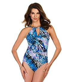 Trimshaper® All Rattled Up Sara Tank One-Piece