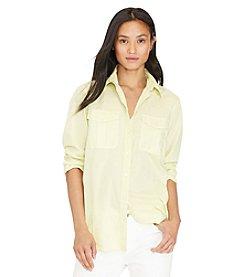 Lauren Jeans Co.® Petites' Cotton Workshirt