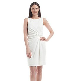 Calvin Klein Ruched Side Sequin Dress