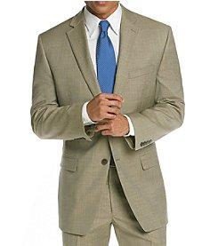 Calvin Klein Men's Tan Flat Front Suit Separates Jacket