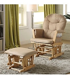 Acme Rehan Glider Chair and Ottoman Set
