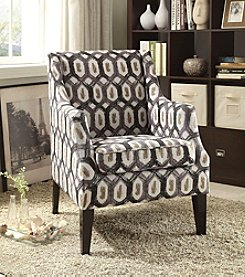 Acme Zarate Ikat Accent Chair