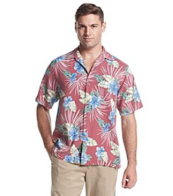 Tommy Bahama® Men's Short Sleeve Button Down Floral Fireworks Campshirt