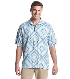 Tommy Bahama® Men's Short Sleeve Button Down Ikat Diamond Camp Shirt