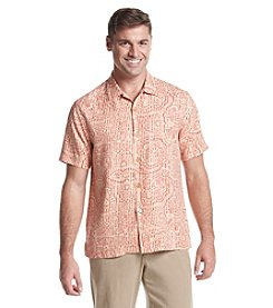 Tommy Bahama® Men's Short Sleeve Button Down Paloma Paisley Camp Shirt