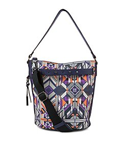 Kenneth Cole REACTION Slide Bucket Geometrix Crossbody