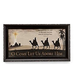 LivingQuarters Wise Men Wall Art