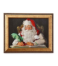 LivingQuarters Naughty Or Nice Wall Art