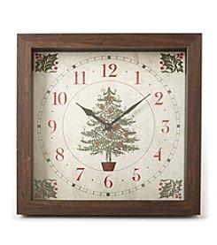 LivingQuarters Christmas Clock