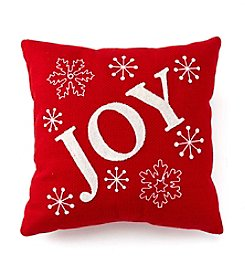 LivingQuarters Joy Pillow
