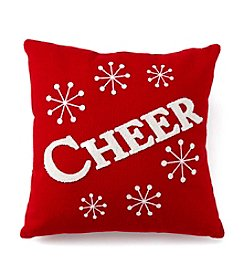 LivingQuarters Cheer Pillow