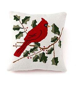 LivingQuarters Cardinal Pillow