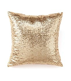 CASA by Victor Alfaro Wanderlust Collection Gold Sequin Pillow