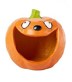 LivingQuarters Smiling Pumpkin