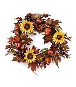 LivingQuarters Harvest Wreath